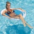 Chaise Spring Float PAPASAN - BLANC/BLEU