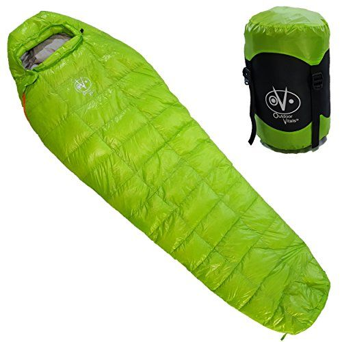 Outdoor Vitals - Down 0 Degree High Quality Down Sleeping Bag, High Quality Down, Ultra Compactable, Light Weight, Compression…