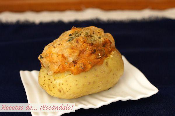 Patatas Rellenas De Carne Picada Al Horno Recetas De Escándalo Receta Receta De Papas Rellenas Papas Rellenas Patatas Rellenas De Carne