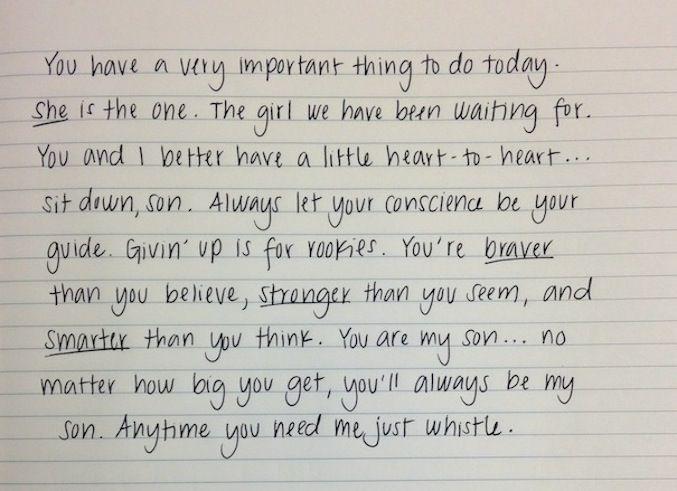 Disney Wedding Speech Inspiration