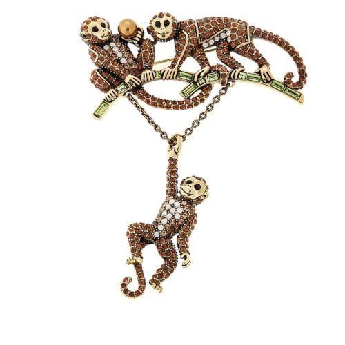 Heidi-Daus-034-Lifes-a-Barrel-of-Monkeys-034-Crystal-Pin