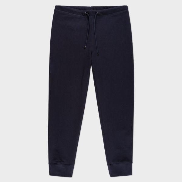Men's Navy Organic-Cotton Sweatpants