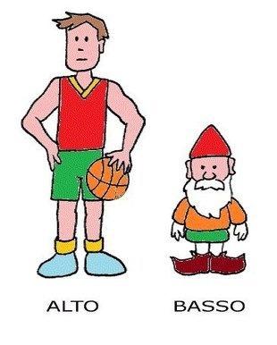 Alto (tall) - Basso (short) - (Italijanski online   Facebook)