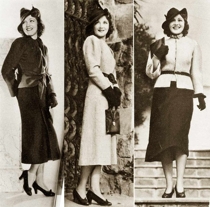 Mar 25, 2020 – 1930s-fashion-hollywood-fall-styles-in-1937-c-june-clayworth More #style #shopping #styles #outfit #prett…