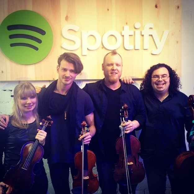 This is Vitamin String Quartet , an LA-based group that began doing classical covers of rock songs in 1999 and has since branched out to include pop.