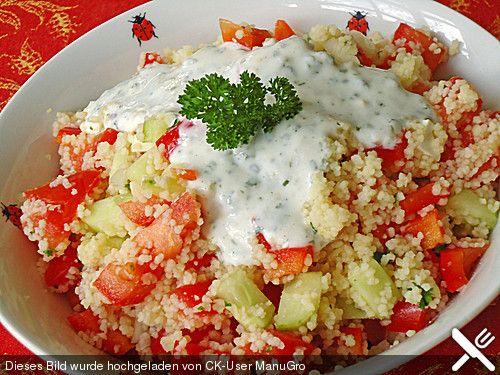 Couscous salat fruhlingszwiebeln