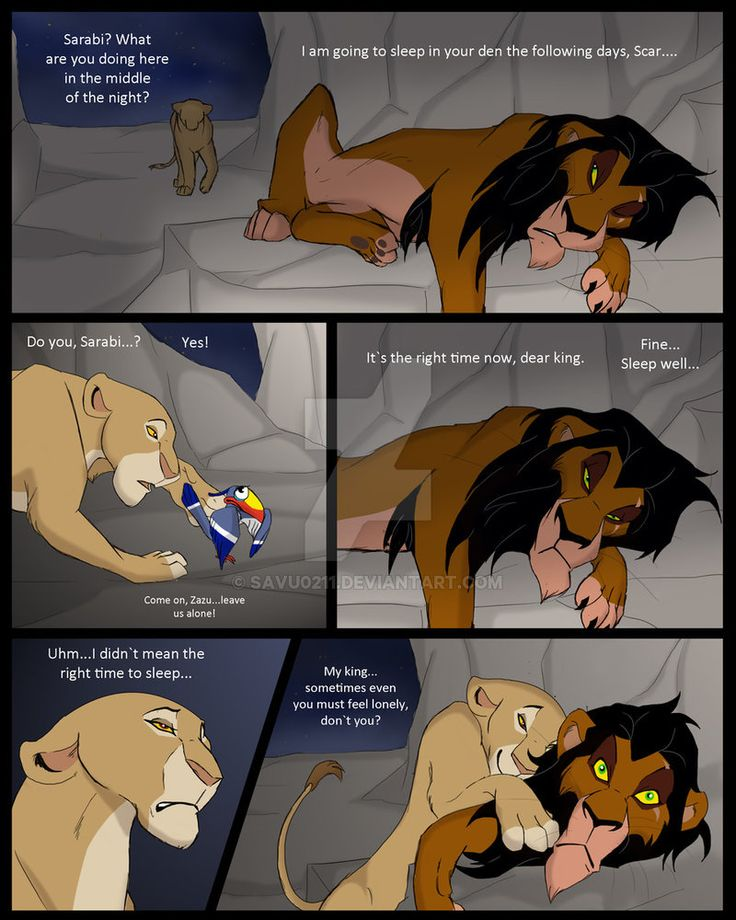 Lion king porn comic