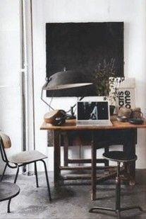 Inspiration, interior, Scandinavian raw and rustic