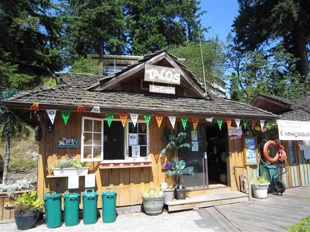 Bowen Island little Taco Shop. Come have great Taco's