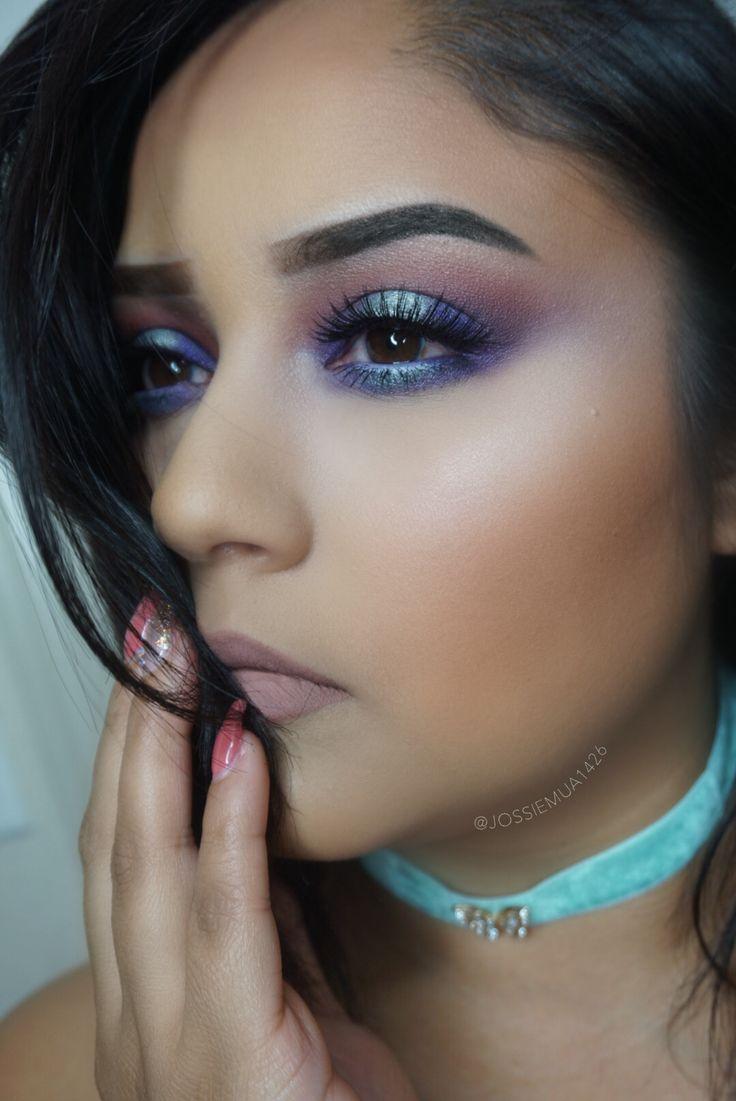 Jaclyn hill palette looks  blue vibes #blueeyeshadow #shadows #makeup #jaclynhill #morphebrushes
