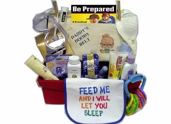 New Dad a much needed survival kit filled with everything that a new ...  (including face mask!)