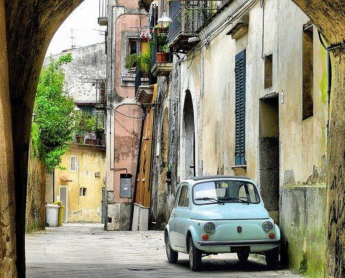 When I retire, this is where you will find my Fiat and I.