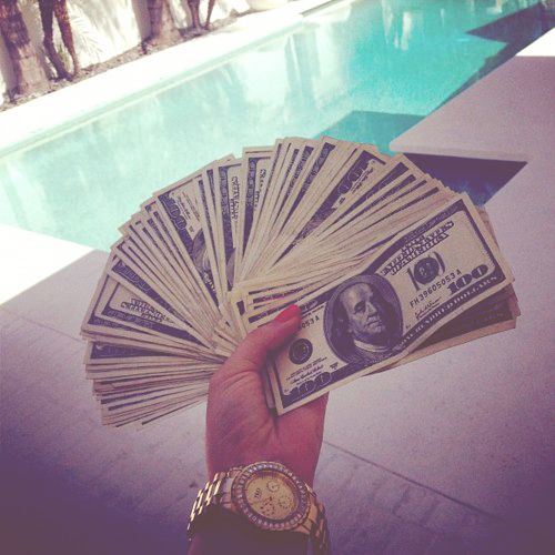 I have all this money-- more money flows to me effortlessly --money shows up for me like magic