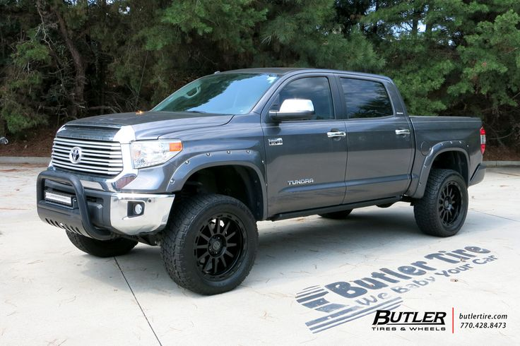 Toyota Tundra With 22in Black Rhino Revolution Wheels