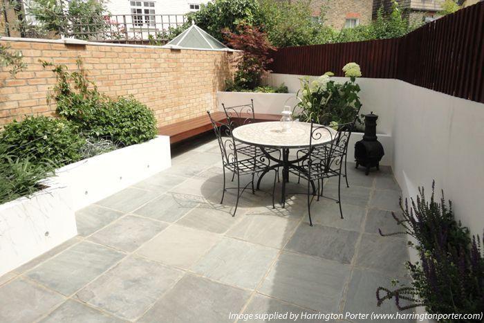 London Stone - Exterior Stone Paving - Sandstone Paving - Kandla Grey Sandstone Paving