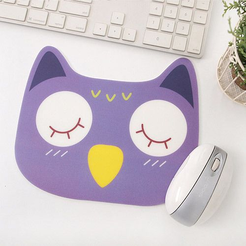 2young Cute animal purple owl mouse pad (http://www.fallindesign.com/2young-cute-animal-purple-owl-mouse-pad/)