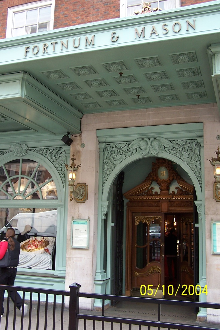 Another view of Fortnum & Mason, London, Sanjay goes to buy something for someone dear to him.
