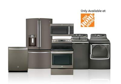 Our Appliance Collections GE® Adora Slate appliances