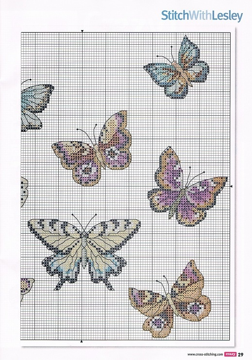 Gallery.ru / Фото #18 - Cross Stitch Crazy 162 апрель 2012 - tymannost