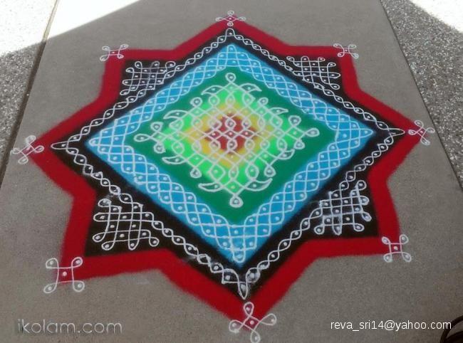 Fusion Rangoli | www.iKolam.com