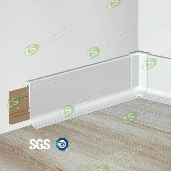 Flooring Accessories decorative pvc skirting board flooring profile pvc skirting