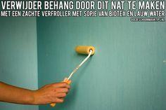 Behang verwijderen doe je zo! Lees onze blog op: http://www.ikzoekeenschoonmaakster.nl/blog/behang-verwijderen-doe-je-zo/