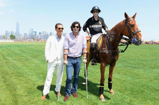 """Brad Pitt, Leonardo DiCaprio and George Clooney -- move over. The most swoon-worthy star of all - polo player Ignacio """"Nacho"""" Figueras. This Argentine Adonis defines tall, dark and handsome. Polo is an athletic event that can be enjoyed by all. """"Polo is a great sport because it has all the ingredients that a sports needs to be amazing. It has horses. It has speed. It requires talent and eye-hand coordination. Plus, there's an adrenaline rush; so it has the ingredients a sport needs."""""""