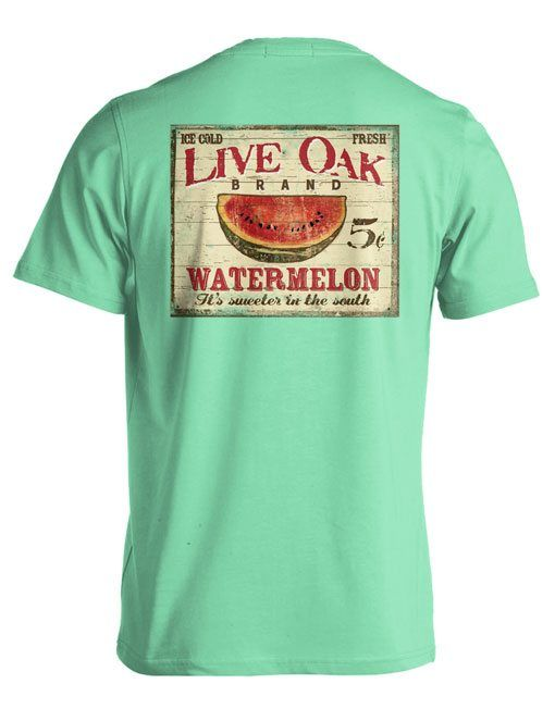 Live Oak Watermelon Sign - LIVE OAK BRAND