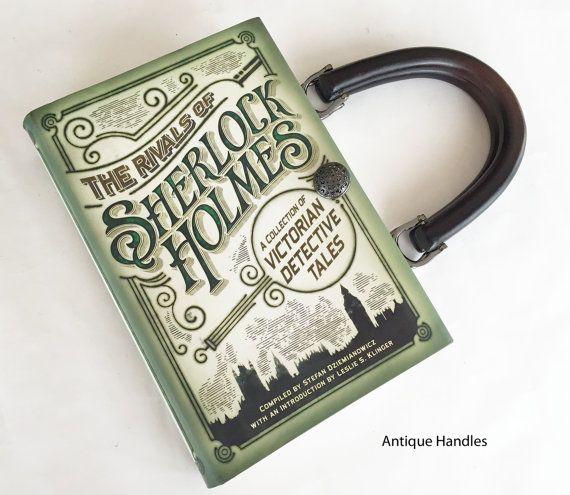Sherlock Holmes Book Purse Sherlock Book Cover by NovelCreations