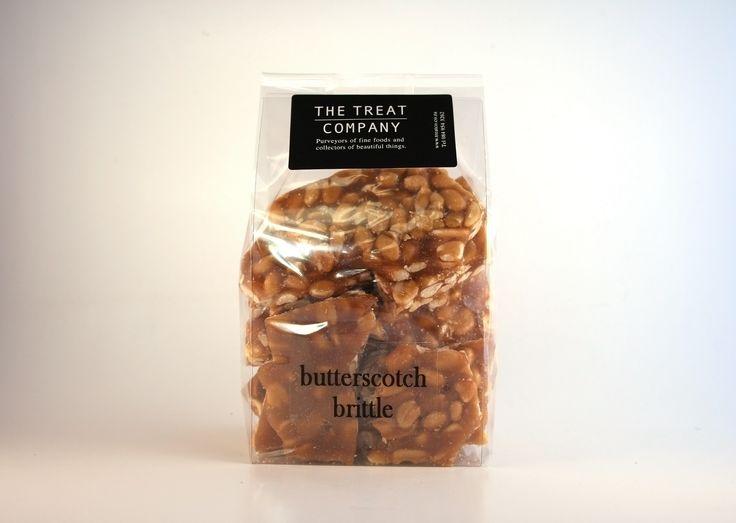 Butterscotch Peanut Brittle , Insert bag, 300g