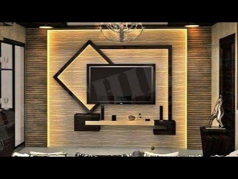 Youtube Modern Tv Wall Units Lcd Wall Design Living Room Design Modern