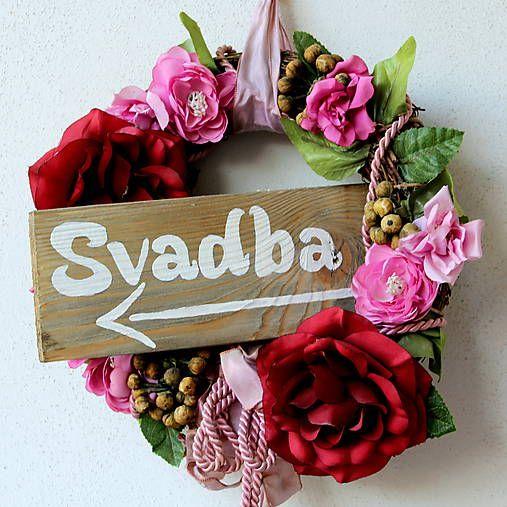 HaM / Svadba Svadobná ceduľka - svadba hand made diy, wedding, smerová tabuľa, tabuľka