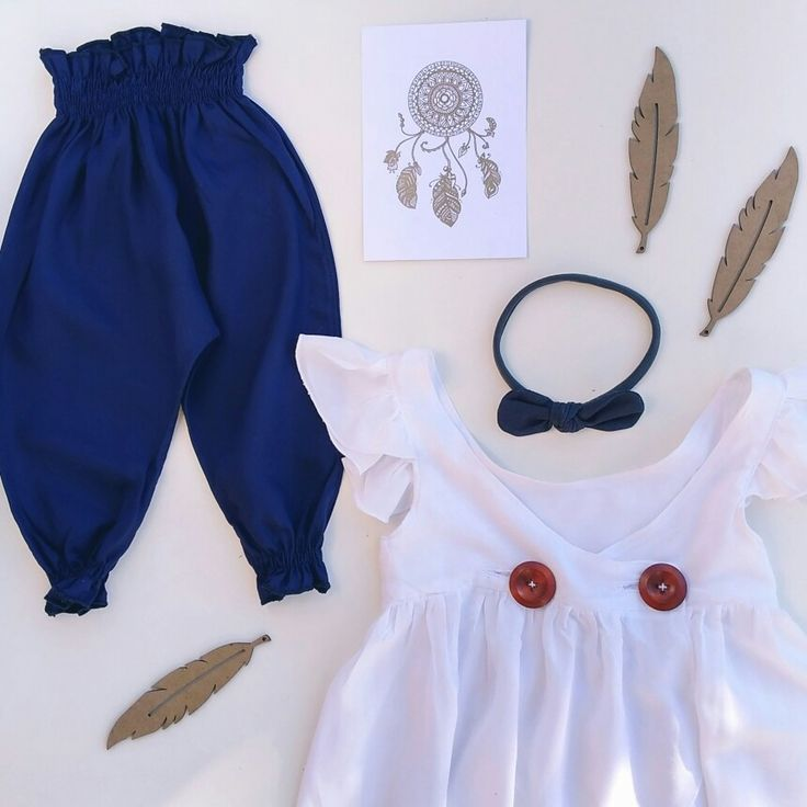 Ahhh love Navy on little ladies 😍😍😍 love this outfit from @sewbabyclothing