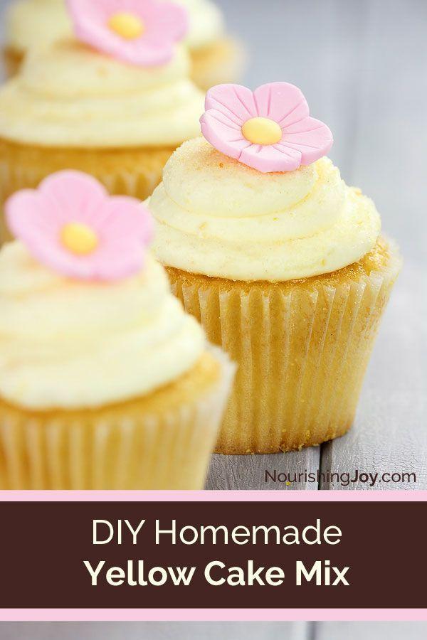Cupcake Recipes Using Boxed Yellow Cake Mix