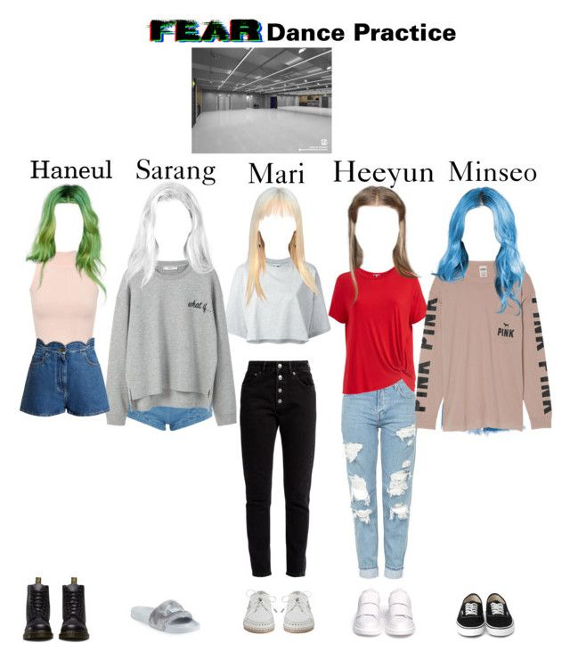 """Fear Dance Practice"" by dfyofficial on Polyvore featuring moda, Puma, Topshop, Abito, Balenciaga, Philosophy di Lorenzo Serafini, Victoria's Secret, Pierre Balmain, MANGO ve WearAll"
