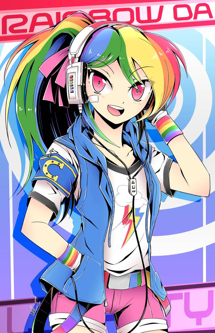 Art by Banzatou RainbowDash MLP mylittlepony MLPFiM