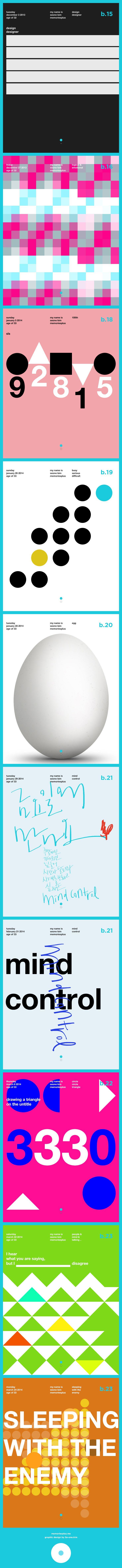 #graphic #design #typography #calligraphy by memoriesplus.me se-one.kim
