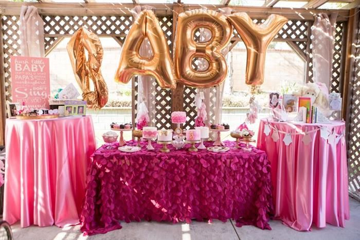 Juicy Couture Baby Shower {Party Ideas, Supplies, Decor}