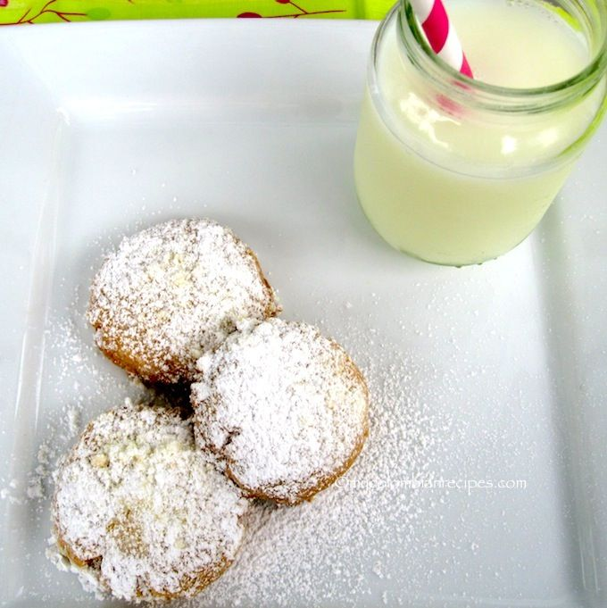 Polvorosas (Colombian Butter and Sugar Cookies) - I absolutely HAVE to make these