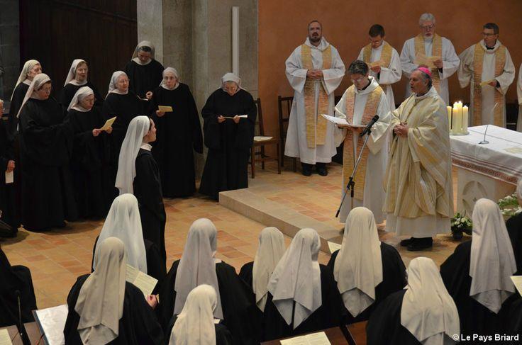 Une cérémonie rare à l'abbaye.Jouarre A l'abbaye : sœur Théophane s'est engagée pour toujours Évènement rare le samedi 2 mai à l'abbaye, avec la profession solennelle de sœur Théophane.