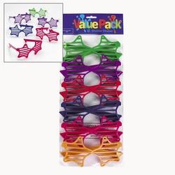 12 Kids Star Shutter Sunglasses Birthday Party Favor Rock Star Dance Girl Boy | eBay