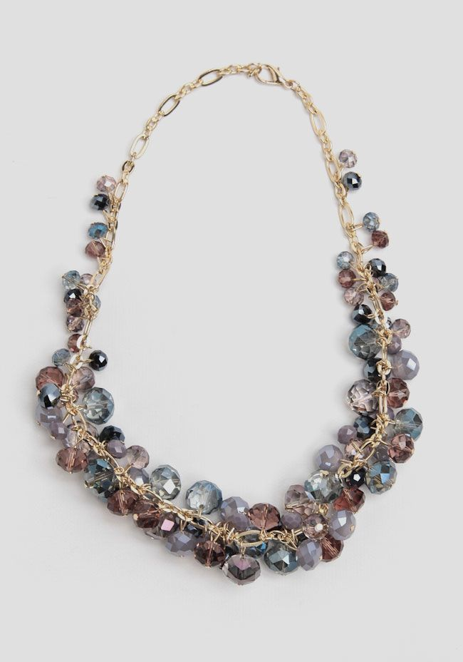 Dancing Lights Jeweled Necklace at #Ruche @shopruche