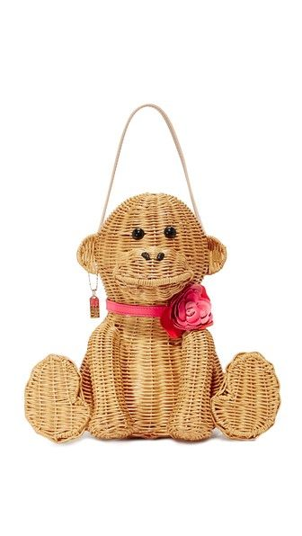 Kate Spade New York wicker monkey bag. Fits almost nothing but totes adorbs!