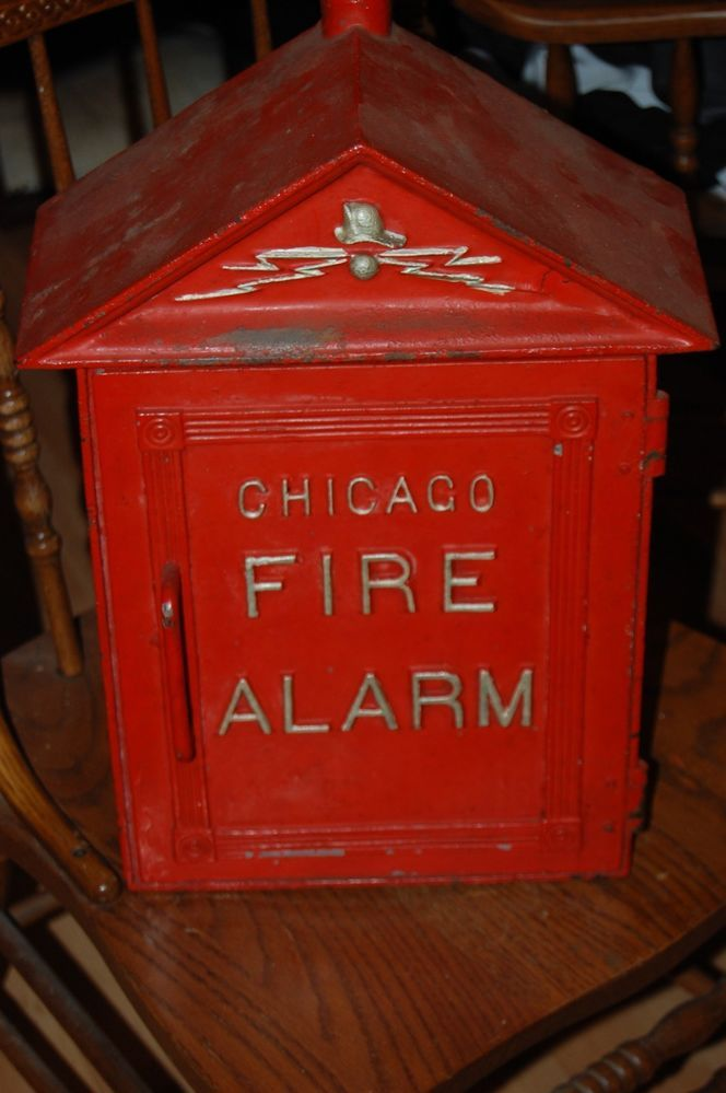 Rare Chicago Fire Department Western Electric Gamewell