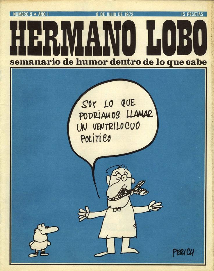 Hermano Lobo Número 9 · Año I   (8 de Julio de 1972)
