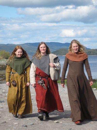 Familiedag på Steinvikholmen (Vikingsnitt)