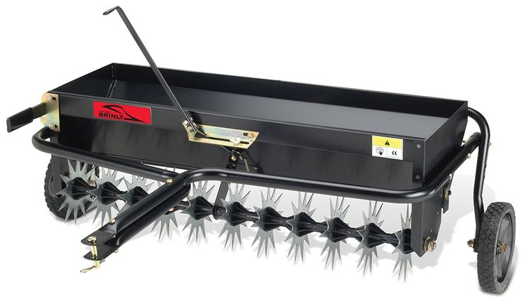 Amazon.com : Brinly AS-40BH Tow Behind Combination Aerator ...