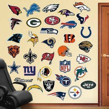 #NFL Logo Collection 2012 #Fathead Wall #Decal Price : $99.99