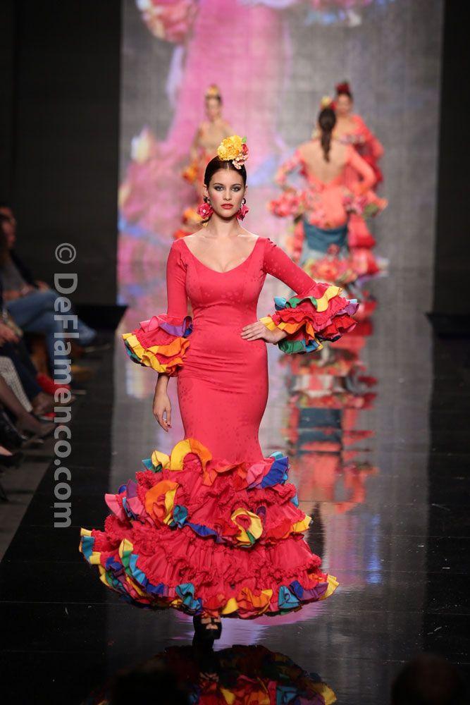 Fotografías Moda Flamenca - Simof 2014 - Rosa Rojo 'Sueños de Luz' Simof 2014 - Foto 10