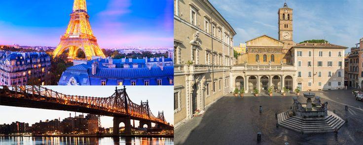 Rincones para enamorados  ¡Piérdete en buena compañía por alguno de los lugares más románticos del mundo! Puedes verlos aquí: http://www.mujeresreales.es/ocio/video/5-rincones-del-mundo-perfectos-para-enamorados